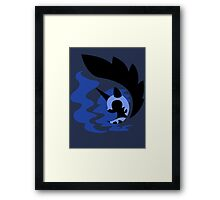 Emblem of Harmony - Nightmare Moon Framed Print