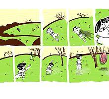 Green Fields by clarissetanjo
