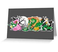 Skqwerkle - Trick or treat Greeting Card