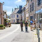 La Gacilly, Brittany, France by Elaine Teague
