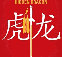 No334 My Crouching Tiger Hidden Dragon minimal movie poster by Chungkong