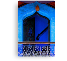 The Blue City III [Print & iPad Case] Canvas Print
