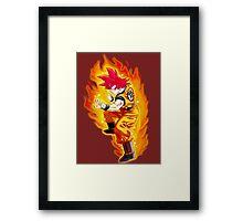 GokuGod Framed Print