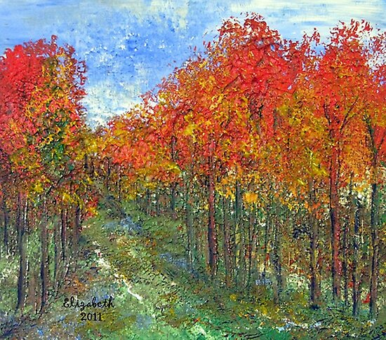 Autumn makes me sing by Elizabeth Kendall