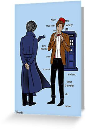Sherlock meets the Doctor by chloeroseart