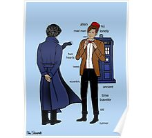 Sherlock meets the Doctor Poster