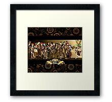 All Steampunk Disney Princess Framed Print