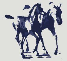 Arabian Mare & Foal Design T-Shirt