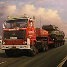 Lumsden's big Volvo by Mike Jeffries
