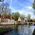 Beguinage (Begijnhof), Bruges by Ludwig Wagner