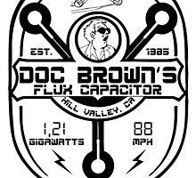 Doc Brown flux capacitor by CarloJ1956