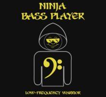 Ninja Bass Player by Samuel Sheats