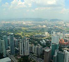 Cityscape III - Kuala Lumpur, Malaysia. by Tiffany Lenoir