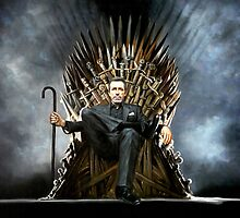 Dr Gregory House - Game of Thrones - Iron Throne by zenoconor