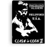 CLASH IN COTAI 2 - PACMAN Canvas Print