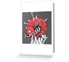 Mother Brain (Paint 'N' Beads) Greeting Card