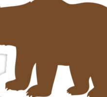 Hilarious 'I'm Beary Fond of the Adirondacks' T-Shirt Sticker