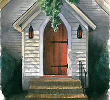Church Door by Anthony Billings
