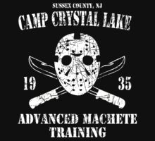 Camp Crystal Lake Machete Training by SecretNinja