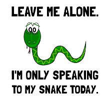 Alone Speaking Snake by TheBestStore