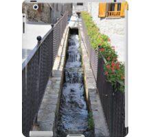stream passing through the houses iPad Case/Skin