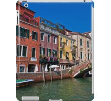 Italy. Venice. Color Feast. iPad Case/Skin