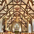 Plaxtol Church  by Dave Godden