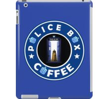 Police Box Coffee | Doctor Who iPad Case/Skin