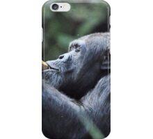Chimpanzee ( Pan Troglodytes) iPhone Case/Skin