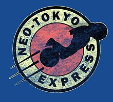 Neo-Tokyo Express (Vintage) by DrRoger