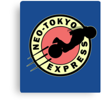 Neo-Tokyo Express Canvas Print
