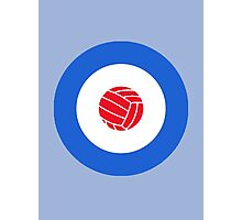 Football Target Photographic Print
