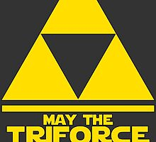 May the Triforce be with you - Link by Kurium