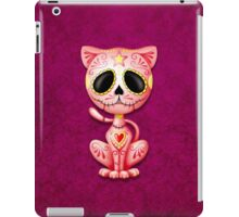 Pink Zombie Sugar Kitten Cat iPad Case/Skin