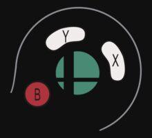 Smash Bros Gamecube Controller by ilikewinning2