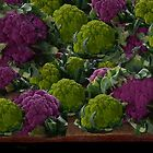 BEAUTIFUL PURPLE & GREEN CAULIFLOWER-PICTURE,TOTE BAG,TRAVEL MUGS,PILLOWS..ECT.. by ✿✿ Bonita ✿✿ ђєℓℓσ