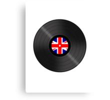 UK Vinyl Canvas Print
