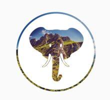 Grassy Elephant by defnuh