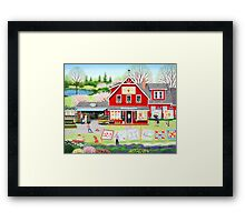 Springtime Wishes Framed Print