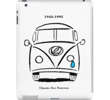 Classics Live Forever Stealie iPad Case/Skin