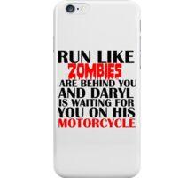 RUN LIKE ZOMBIES iPhone Case/Skin