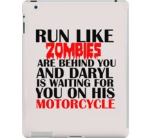 RUN LIKE ZOMBIES iPad Case/Skin