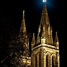 Moon and St Peter's Cathedral by pablosvista2