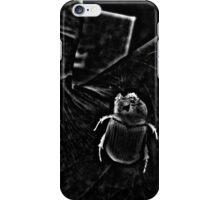 Night Scarab iPhone Case/Skin
