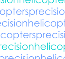 Precision Helicopters Sticker