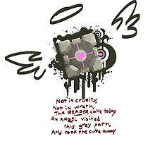 Companion Cube by SquishyCrumpet