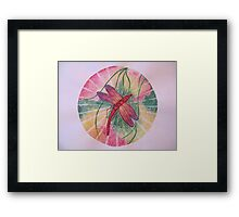 Mandala : Dragonfly Dreams Framed Print