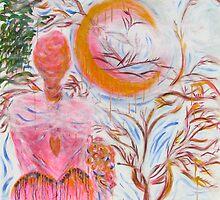 Pink Moon. by michellecupcake