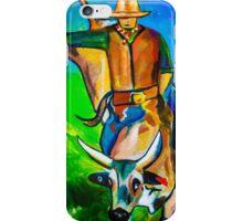 Bull Rider iPhone Case/Skin