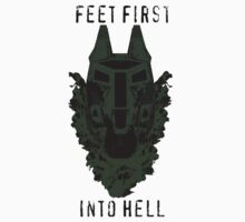 Feet First into Hell - Halo ODST T-Shirt